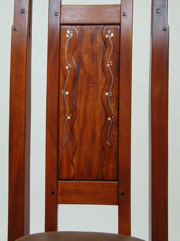 G g blacker house d r chair detail paula garbarino for D furniture galleries closing