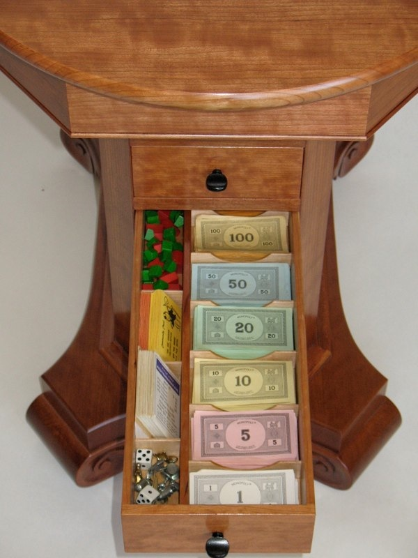 Game Table Monopoly Storage Paula Garbarino
