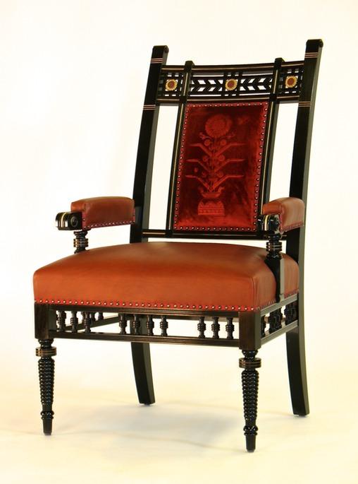 Aesthetic Movement Arm Chair Paula Garbarino