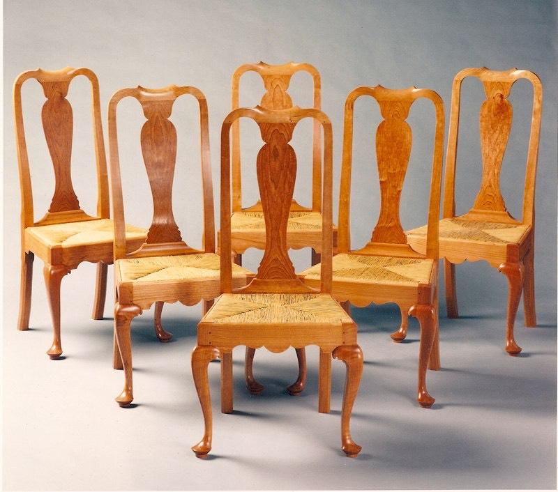 Queen Anne Chair Set